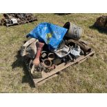 Various spares and PTO parts