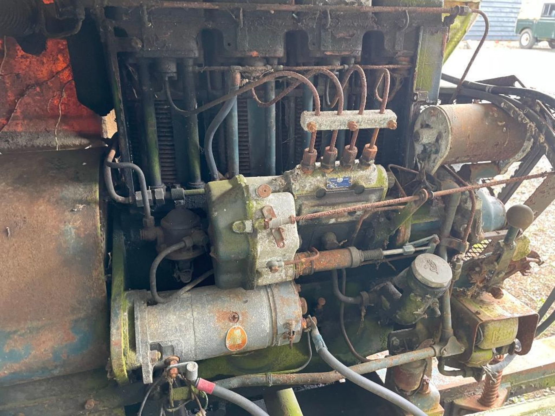 Lister diesel engine, spares or repairs NB: Manual in Office - Image 3 of 3