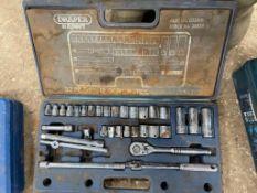 Draper 33 piece socket set