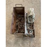 Assorted bolts and clamps
