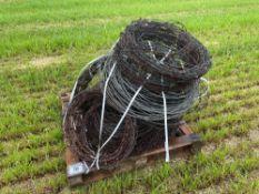 Quantity barb wire