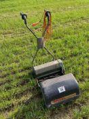 Webb AB1255 cylinder mower, single phase