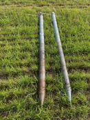 Quantity grain aeration spears