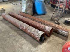 Quantity plastic pipes