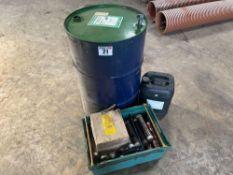 Quantity various lubricants