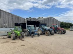 Dispersal Sale by Auction of Modern Farm Machinery and Livestock Equipment