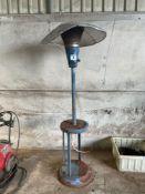 Gas patio heater