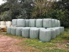 25 x Grass Silage Bales