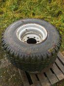 x2 Flotation Tyres & Rims