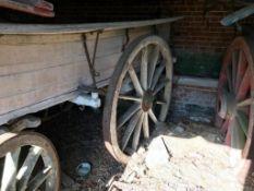 J Roots Harvest Wagon