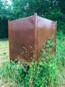 Hopper Bottom Box