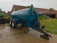 A S Marston 2000 Gallon Tandem Axle Vacuum Tanker