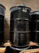 39 x 205 Litre Metal Drums