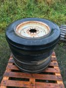 x4 Ford 5000 Front Wheels