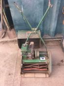 Ransomes Sixteen mower & collection box NO VAT