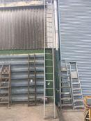 Large aluminium ladder NO VAT