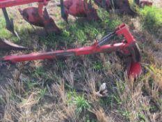 Vogel & Noot Euromat Permanit 3S 5 furrow vari width reversible plough. C/w press arm.