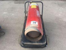 Draper DSH100 workshop heater NO VAT