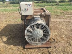 Woods 3 phase fan/ ventilator NO VAT