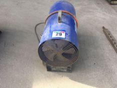Nu-Air gas heater NO VAT