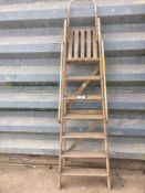 Wooden ladder NO VAT