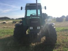 1987 Fendt Farmer 309LSA Turbomatik tractor.