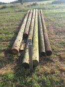 Qty of telegraph poles NO VAT