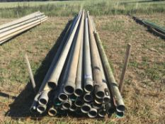 Qty of 4inch irrigation pipes