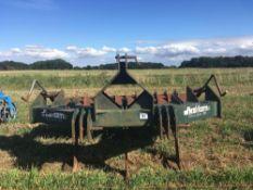 Flexi–Farm flexi form 300 3 leg V form subsoiler and packer roll.