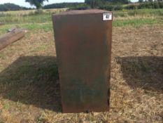 Metal tank used for diesel NO VAT