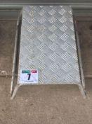 Aluminum step NO VAT