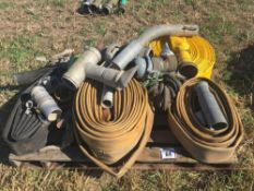 Qty of various irrigation spares.