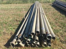 Qty of 4inch aluminium irrigation pipes