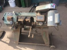 Alpine RF115 electric metal cutting band saw NO VAT