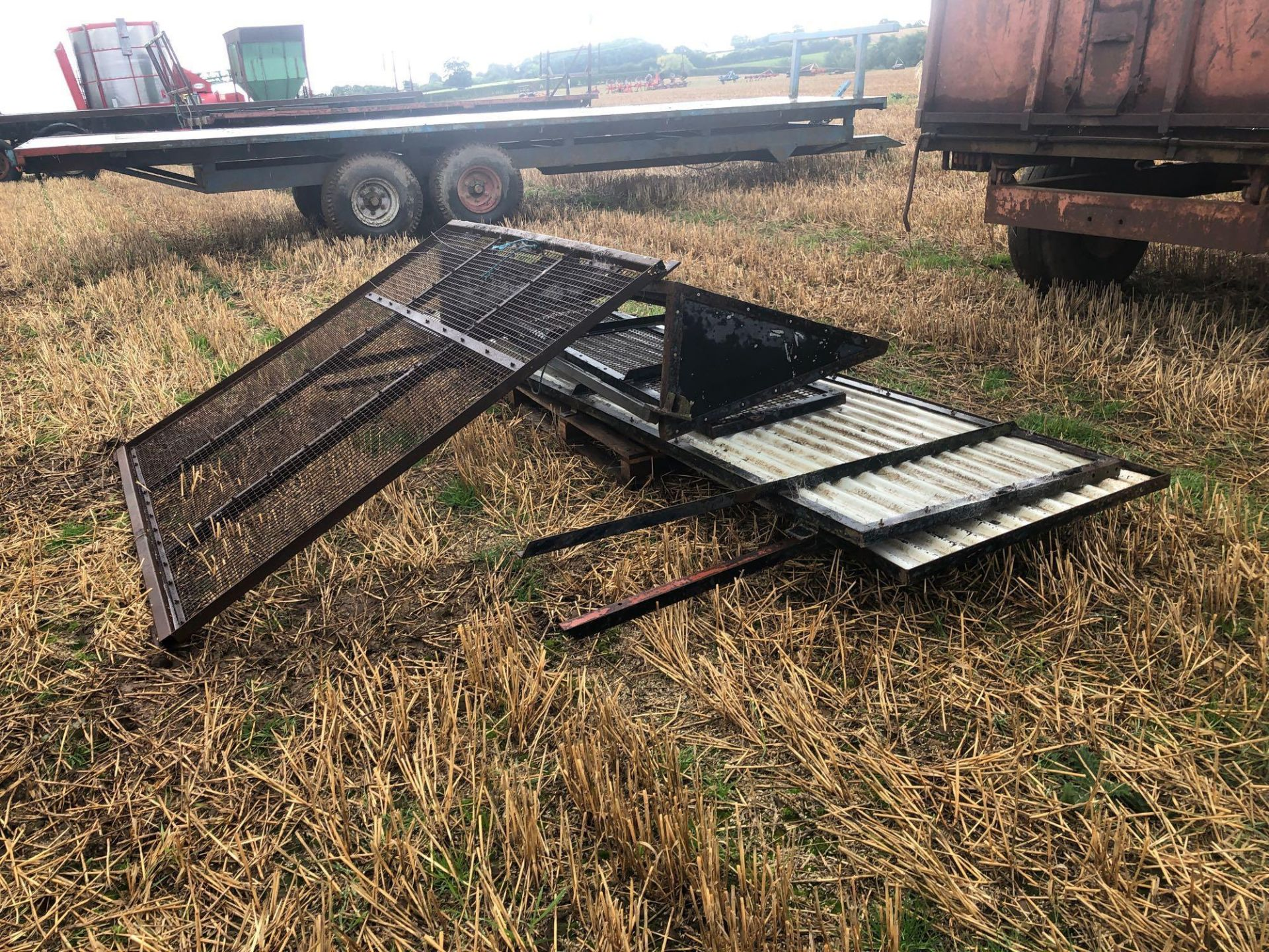 1978 6t homemade single axle trailer. C/w silage sides and back door. - Image 8 of 8