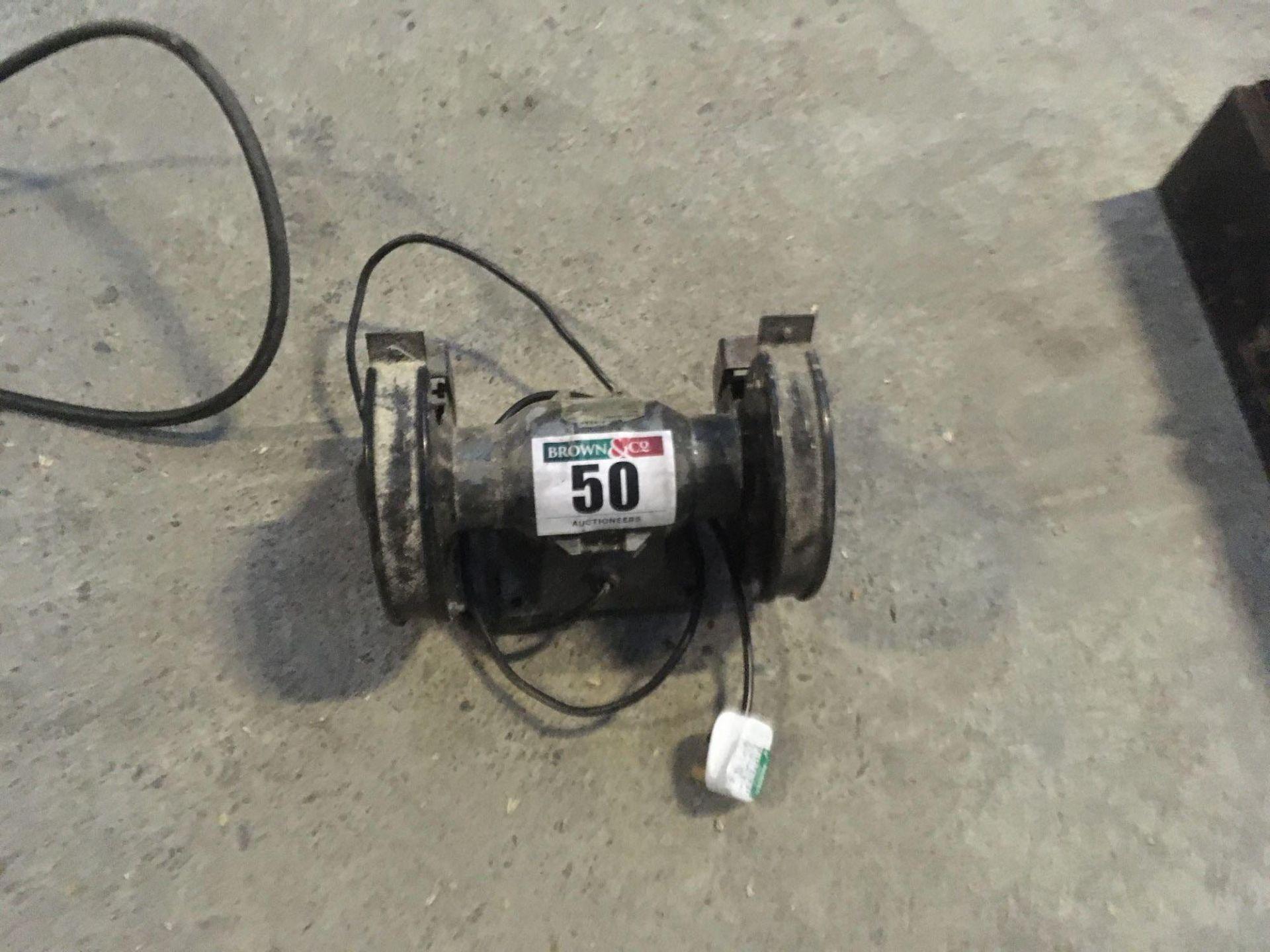 Bench grinder, single phase