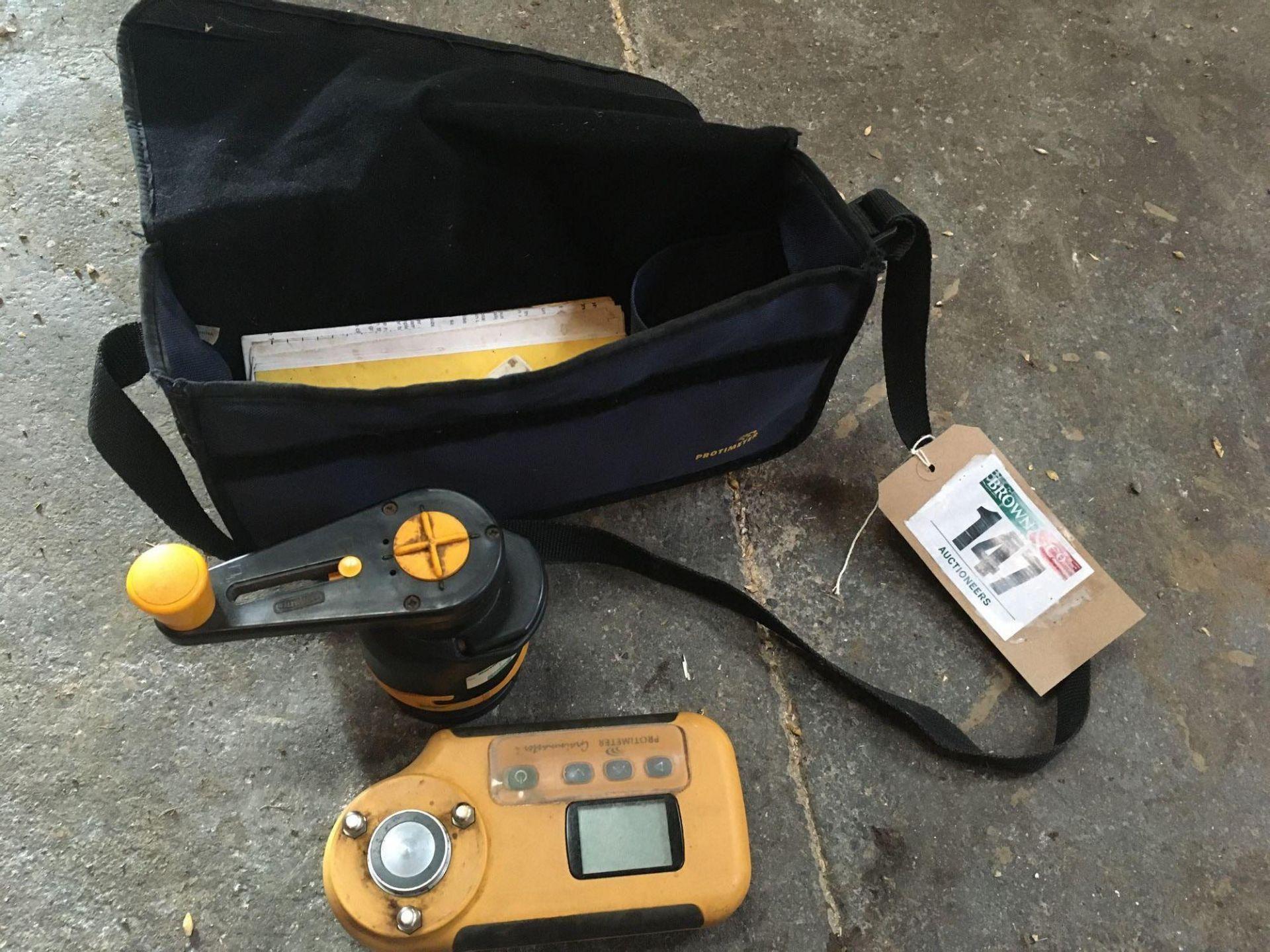 Protimeter moisture meter