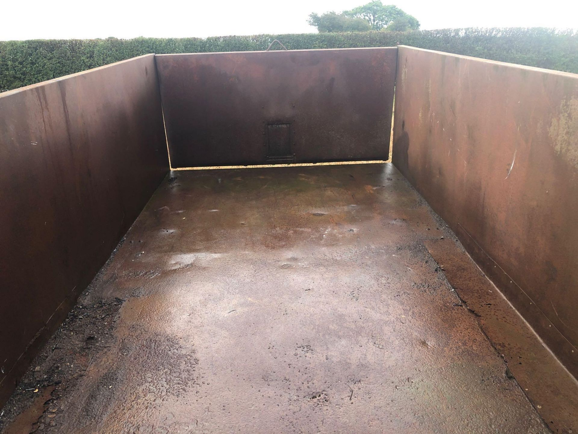 1978 6t homemade single axle trailer. C/w silage sides and back door. - Image 3 of 8