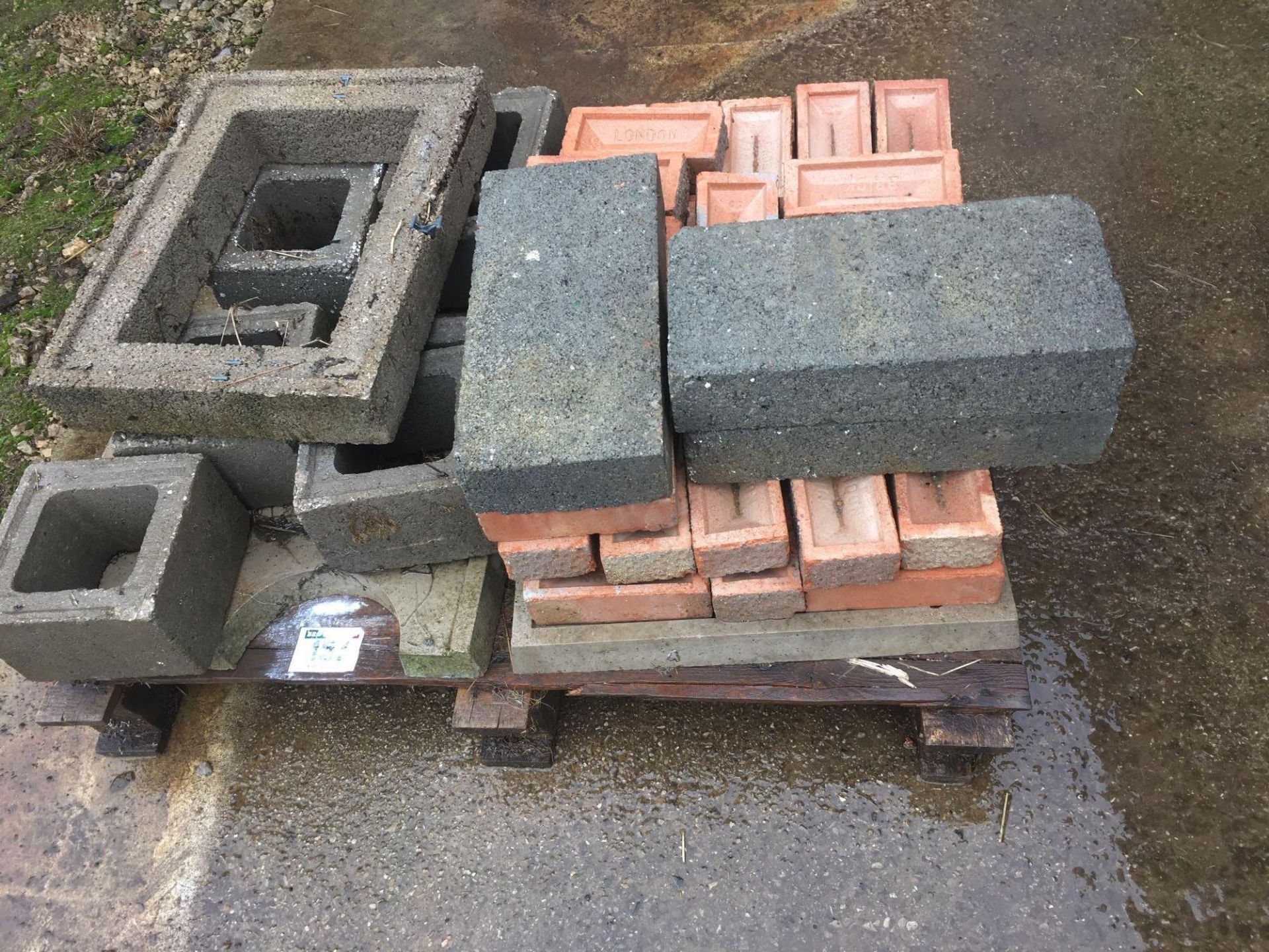 Quantity of building material