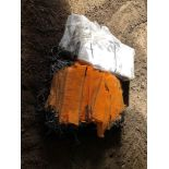 Unused log bags and nets