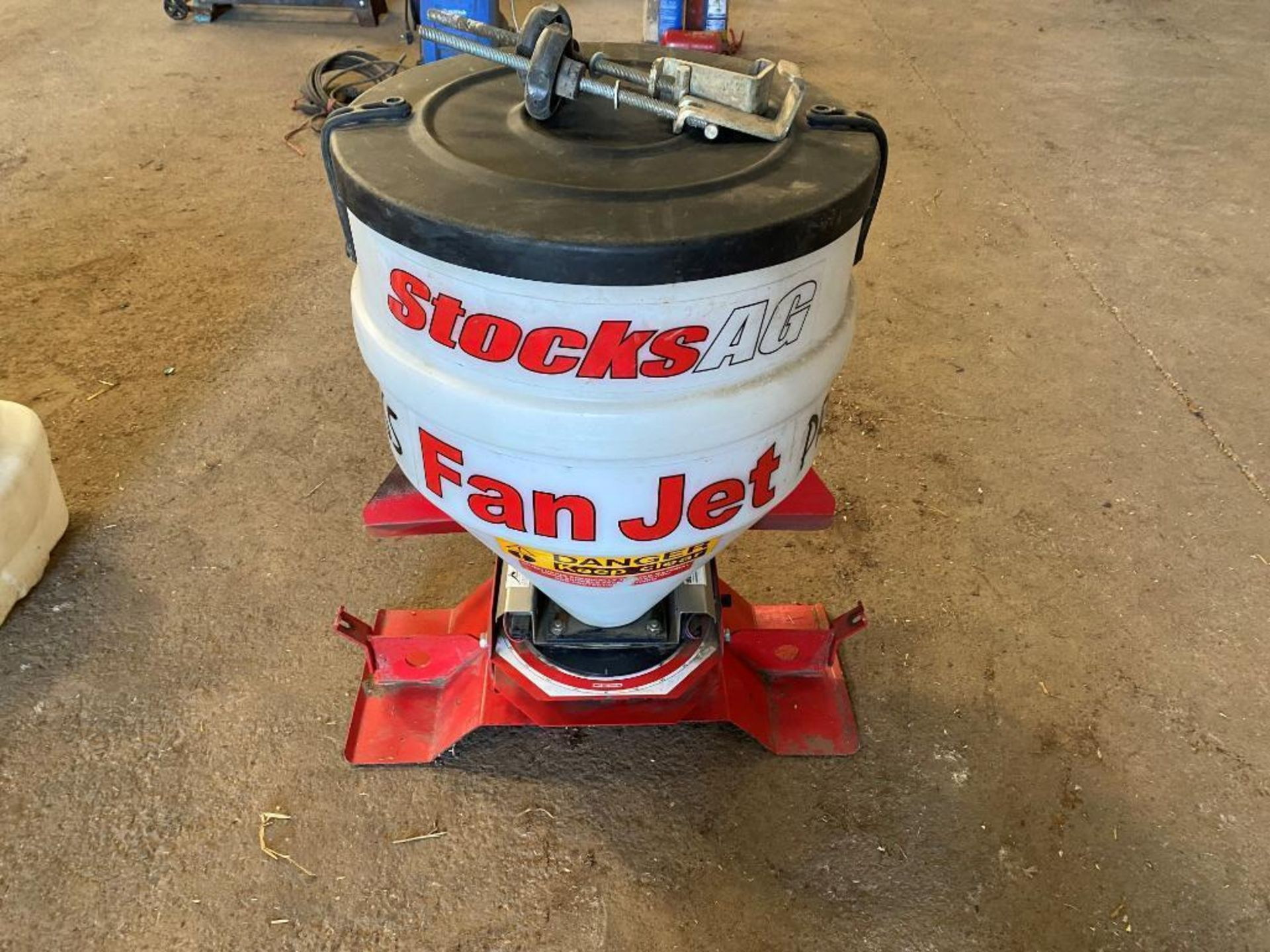 Stocks AG fan jet Slug pelleter. Control box & manual in office. - Image 2 of 4