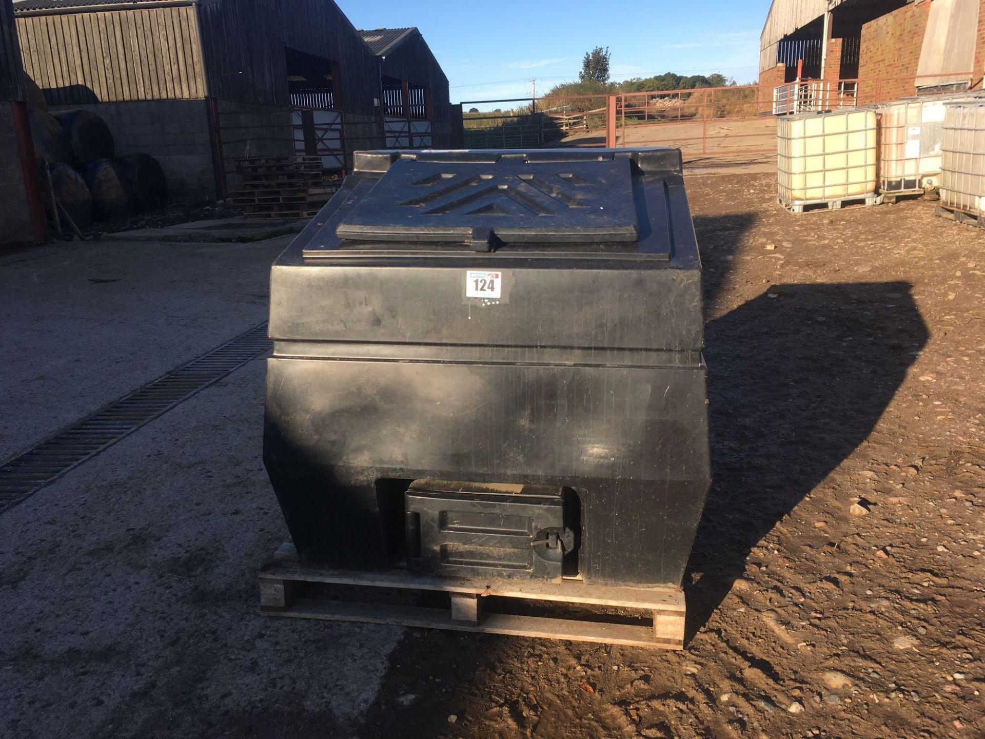 KIngspan 600kg plastic coal bunker