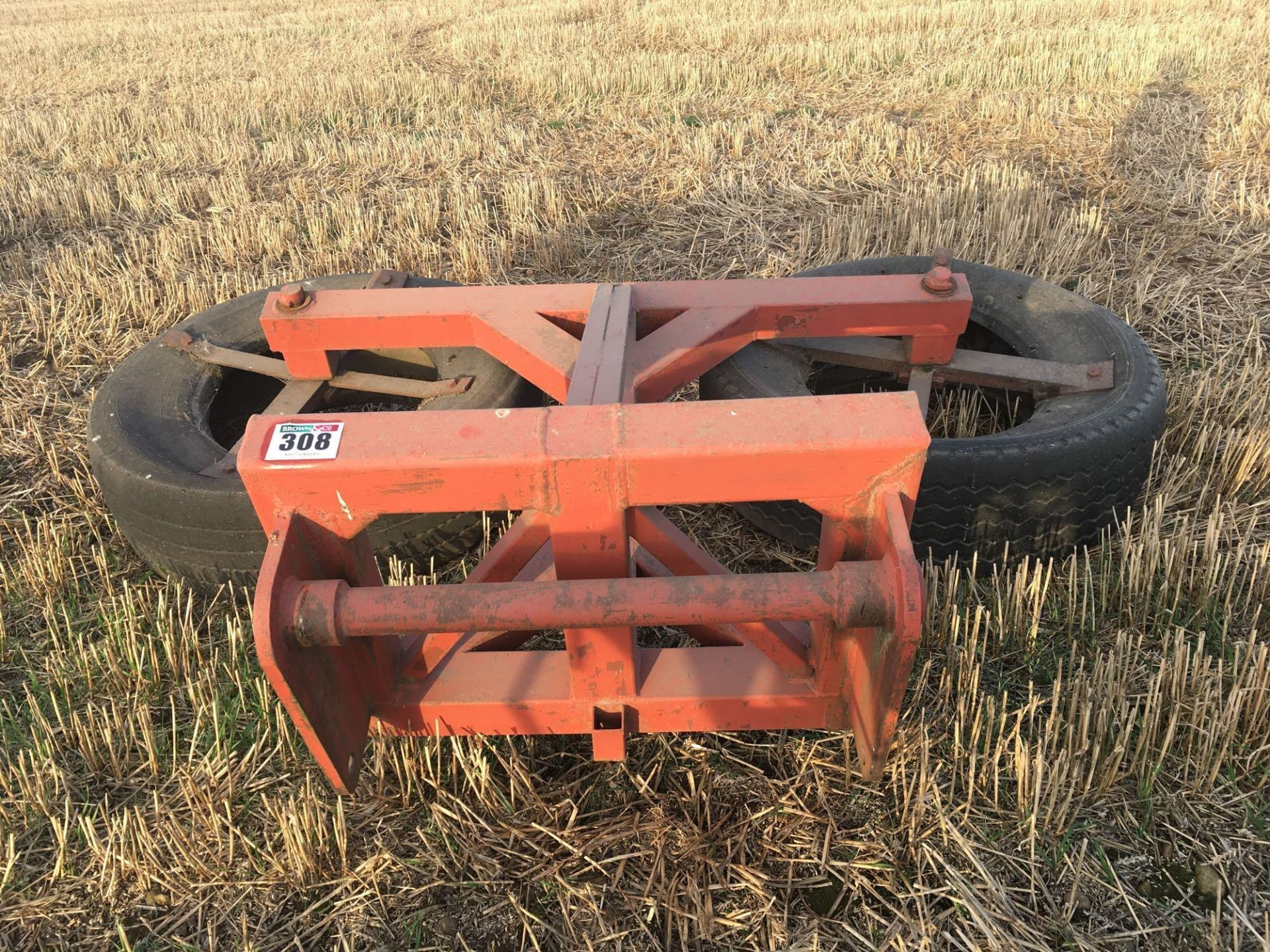 Silage pusher to fit Manitous