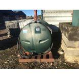 Plastic 1343litre fuel tank