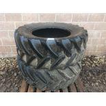 Pair of Taurus 540/65R30 tyres