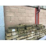 Quantity of stone and blocks