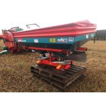 2004 Reco Sulky DPX Prima fertiliser spreader, vari width 12-24m, on farm from new. Serial No: DX011