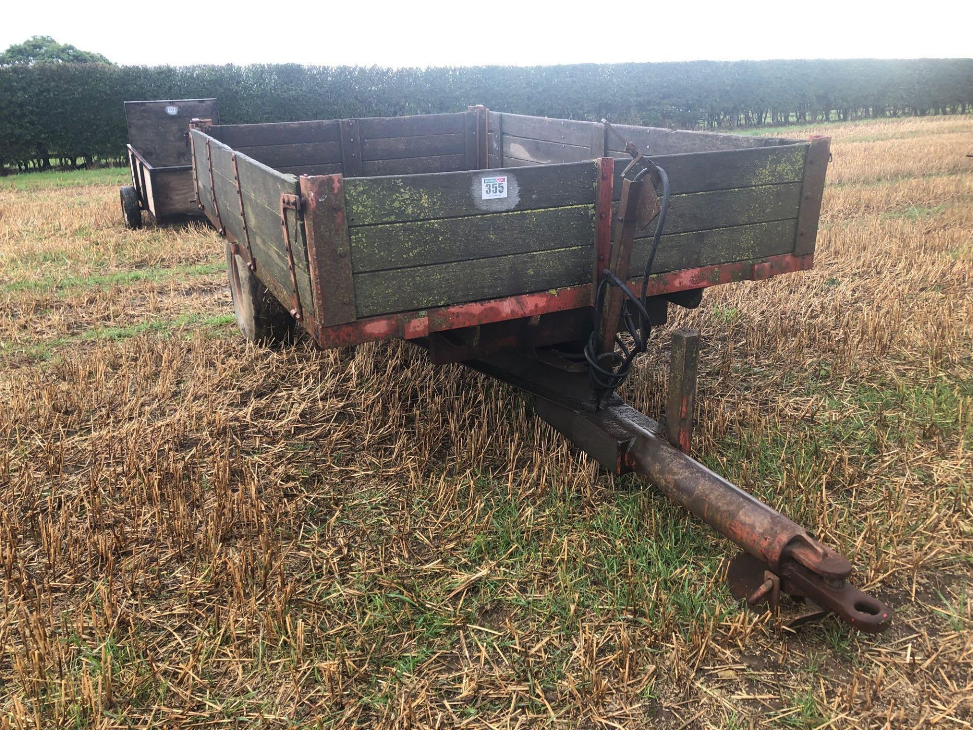 Tye wooden trailer - Image 4 of 4