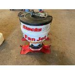 Stocks AG fan jet Slug pelleter. Control box & manual in office.