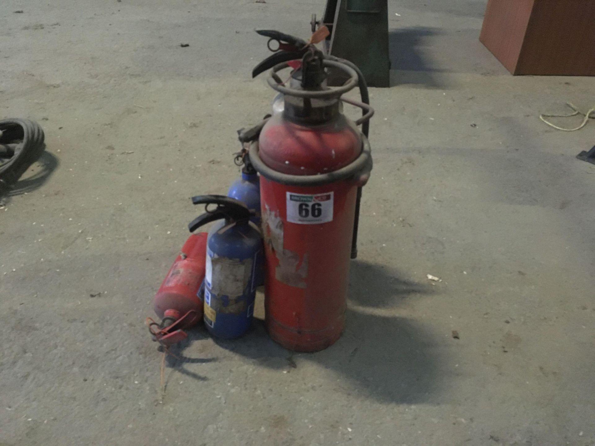 Quantity of fire extinguisher